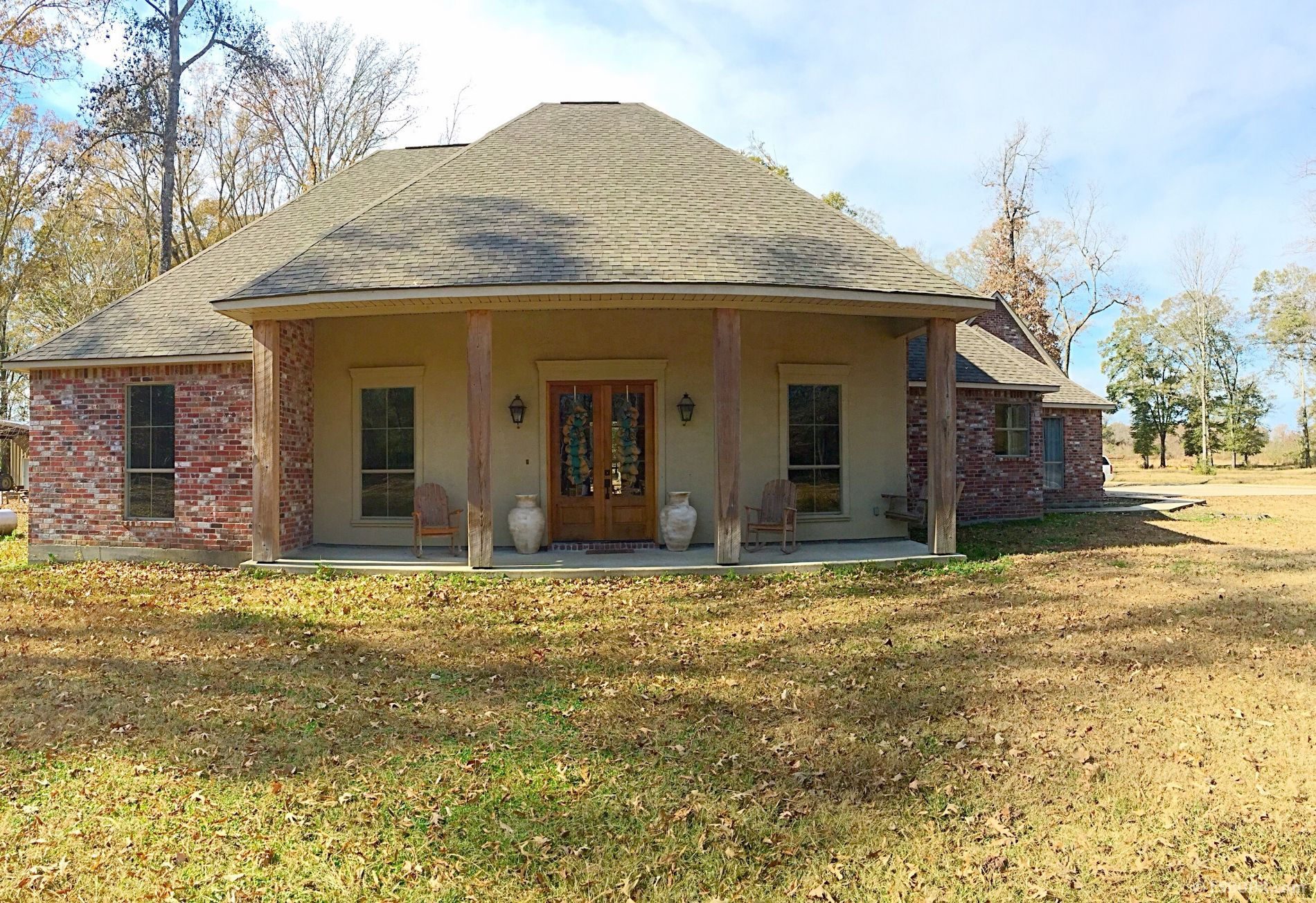 Reduced Price Beautiful Acadian Style Home On 5 Acres